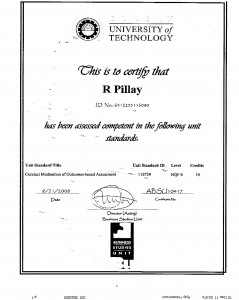 NQF 6 dated 21 September 2008
